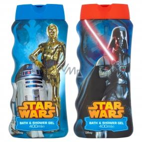 Disney Star Wars 2v1 sprchový gel a pěna pro děti 400 ml