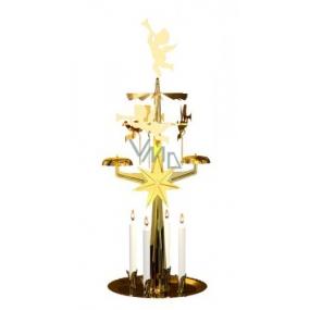 Andělské zvonění mosazné 123 x 190 mm