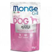 Monge Dog Grill vepřová kapsička 100 g