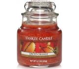 Yankee Candle Spiced Orange - Pomeranč se špetkou koření vonná svíčka Classic malá sklo 104 g