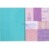 Albi Sada samolepících bločků Peříčka 7 kusů