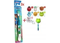 ... Abella Tomcat měkký zubní kartáček pro děti 3 kusy FA613 + Abella Kids  Držák na zubní 0b33321cdc