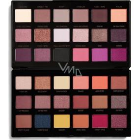 Makeup Revolution by Petra Eyeshadow paletka očních stínů 36 x 0,8 g