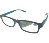 Berkeley Čtecí dioptrické brýle +4,0 plast modré světle modré stranice 1 kus MC2151