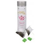 English Tea Shop Bio Bílý čaj 15 kusů bioodbouratelných pyramidek čaje v recyklovatelné plechové dóze 30 g