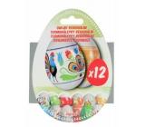 Termonálepky Regionální smršťovací fólie na vejce 12 kusů