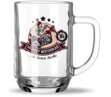 Nekupto Hobby pivní sklenice Vášnivý motorkář 500 ml