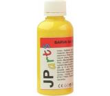 JP arts Barva na textil na světlé materiály, glitrová 1. Žlutá 50 g