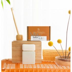 Castelbel Mandarinka 2v1 tuhý šampon na vlasy a tělo pro ženy 120 g + kondicionér na vlasy 50 g, kosmetická sada