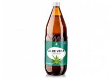 Allnature Aloe Vera Premium čistá šťáva v prémiové kvalitě pomáhá detoxikovat organismus, doplněk stravy 1000 ml