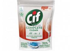 Cif All in 1 Regular tablety do myčky nádobí 46 kusů