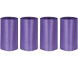 Trixie Sáčky na psí exkrementy 6 cm 4 roličky x 20 sáčků fialové vůní levandule