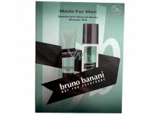 Bruno Banani Made parfémovaný deodorant sklo pro muže 75 ml + sprchový gel 50 ml, dárková sada