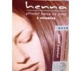Henna přírodní barva na vlasy Ořechově plavá 115 prášková 33 g
