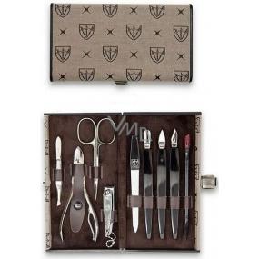 Kellermann 3 Swords Luxusní manikúra Textile Royal 9 dílná v textilníchm pouzdru 7027 F N
