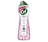 Cif Cream Pink Flower abrazivní čistící tekutý písek 250 ml