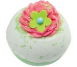 Bomb Cosmetics Jablečno-malinové tornádo - Apple+Raspberry Swirl Šumivý balistik do koupele 160 g