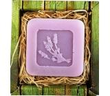 Bohemia Natur Levandule ručně vyráběné toaletní mýdlo v krabičce 60 g