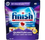 Finish Quantum Max Lemon tablety do myčky nádobí 40 kusů