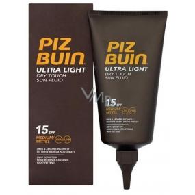 Piz Buin Ultra Light Dry Touch Sun Fluid hydratační fluid SPF15 150 ml
