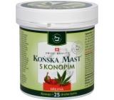 Herbamedicus Koňská mast s konopím hřejivá 250 ml