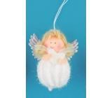 Anděl na pověšení 9 cm