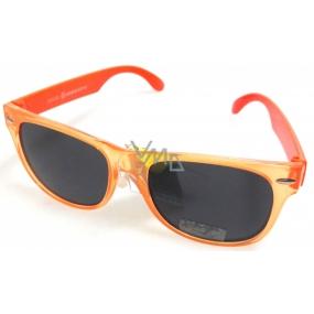 Dudes & Dudettes Sluneční brýle pro děti oranžové 47-17-123