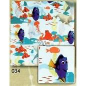 Nekupto Vánoční balicí papír pro děti Dory 0,7 x 2 m 034 BLI
