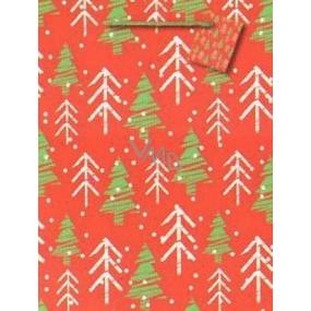 Nekupto Dárková papírová taška 32,5 x 26 x 13 cm Vánoční 1475 30 WBL