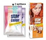 Marion Star Color smývatelná barva na vlasy Orange - Oranžová 2 x 35 ml