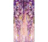 Albi Magnetická záložka do knížky Květinová tapeta 8,7 x 4,4 cm