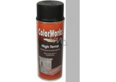 Color Works High Temp 918551 stříbrný žáruvzdorný lak na povrchy 400 ml