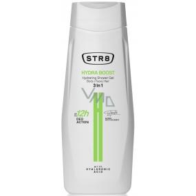 Str8 Hydra Boost 3v1 sprchový gel pro muže 400 ml