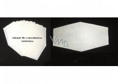 Sada náhradních filtrů s nanovlákennou membránou 10 kusů