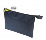 Natalia Angers Kosmetická kabelka na zip střední modrá 19 x 13,5 cm NA03
