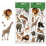 Room Decor Samolepky Zoo 30 x 12 cm náhodný výběr