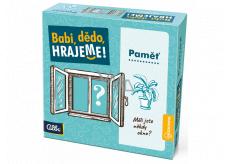 Albi Babi, dědo, hrajeme Paměť vědomostní hra doporučený věk 8+