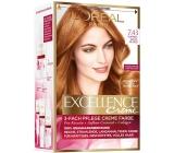 Loreal Paris Excellence Creme barva na vlasy 7.43 blond měděná zlatá