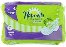Naturella Classic Night intimní vložky 7 ks
