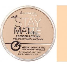 Rimmel London Stay Matte Powder pudr 004 Sandstorm 14 g