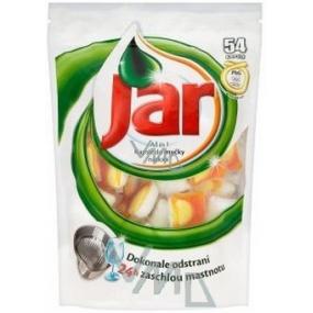 Jar All in 1 Orange kapsle do automatické myčky nádobí 54 kusů