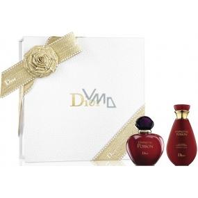 Christian Dior Hypnotic Poison toaletní voda pro ženy 30 ml + tělové mléko 50 ml, dárková sada