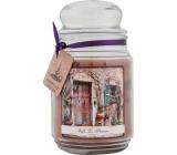 Bohemia Vafle la Provence dárková vonná svíčka ve skle doba hoření 105-120 hodin 510 g