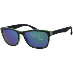 Nae New Age A40247 černozelené sluneční brýle
