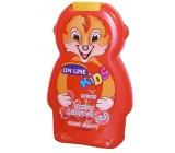 On Line Kids Třešně 2v1 sprchový gel a šampon na vlasy pro děti 250 ml