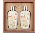 Bohemia Gifts Med a Kozí mléko sprchový gel 250 ml + šampon na vlasy 250 ml, kosmetická sada