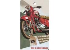 Bohemia Gifts & Cosmetics Aromatická vonná karta Motorka 250 11 x 6,3 cm