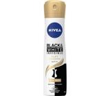 Nivea Invisible Black & White Silky Smooth antiperspirant deodorant sprej pro ženy 150 ml