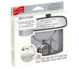 Yankee Candle Fluffy Towels - Nadýchané osušky základní set kovové stříbrné visačky do auta Charming Scents set Linear 13 x 15 cm, 90 g