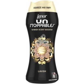 Lenor Unstoppables Lavish vonné perličky do pračky dodávají prádlu intenzivní svěží vůni až do dalšího praní 210 g